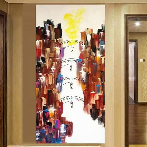 Decorative Wall Art - Painting - Short North Edition 14 by Mac Worthington