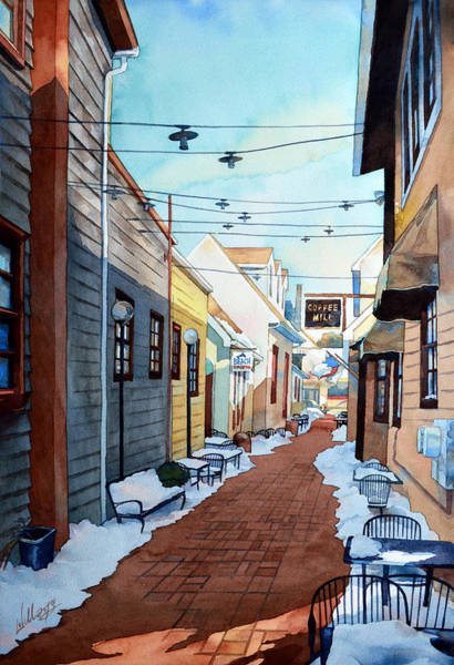 Painting - Shortcut To Baltimore St. by Mick Williams