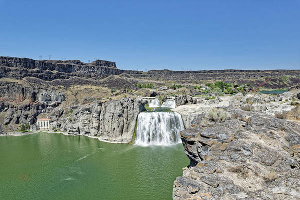 Photograph - Shoshone Falls by Jim Thompson