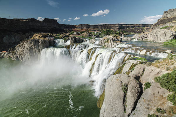 Photograph - Shoshone Falls by Margaret Pitcher