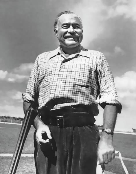 Sportsman Digital Art - Shotgun Hemingway by Daniel Hagerman