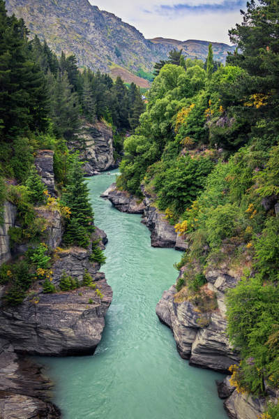 Photograph - Shotover River And Canyon New Zealand by Joan Carroll