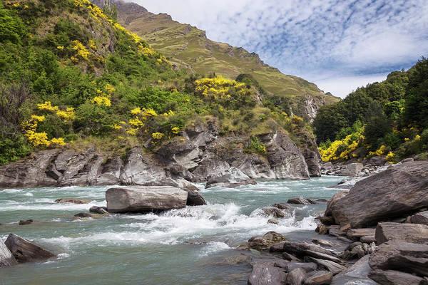 Wall Art - Photograph - Shotover River Rapids New Zealand by Joan Carroll