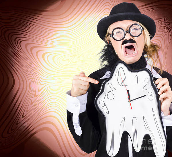 Wall Art - Photograph - Shouting Businessman Stressed From Rush Hour by Jorgo Photography - Wall Art Gallery