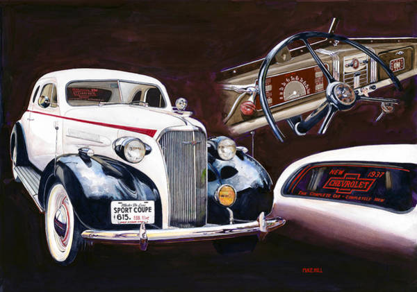 Wall Art - Painting - Show And Tell 1937 by Mike Hill