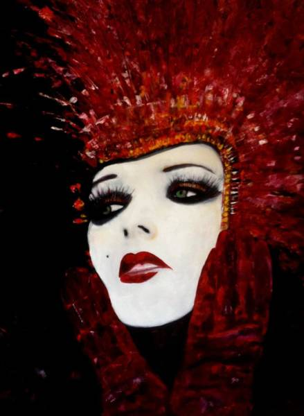 Lyle Painting - Show Girl IIi by Lord Frederick Lyle Morris - Disabled Veteran