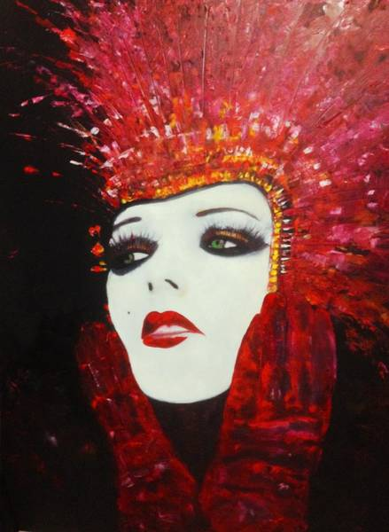 Lyle Painting - Show Girls Radio City by Lord Frederick Lyle Morris - Disabled Veteran