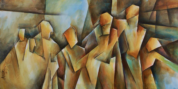 Wall Art - Painting - Show Me by Michael Lang
