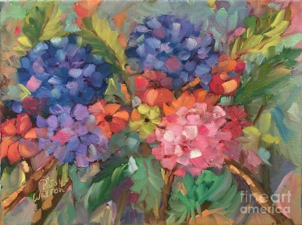 Painting - Show Offs by Patsy Walton
