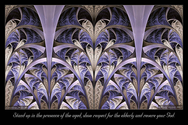 Digital Art - Show Respect by Missy Gainer