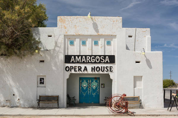Death Valley Photograph - Show Tonight Amargosa Opera House by Steve Gadomski