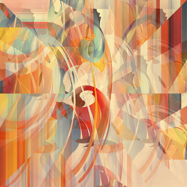 Wall Art - Digital Art - Shower Curtain No 1 by Robert G Kernodle