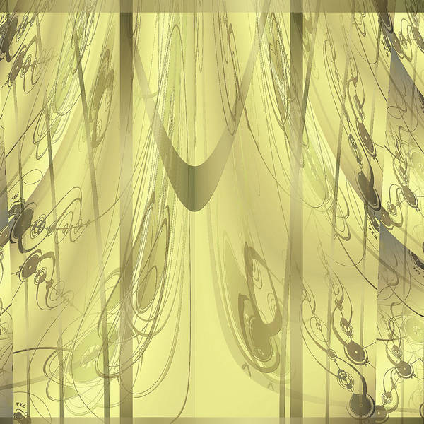 Digital Art - Shower Curtain No 3 by Robert G Kernodle