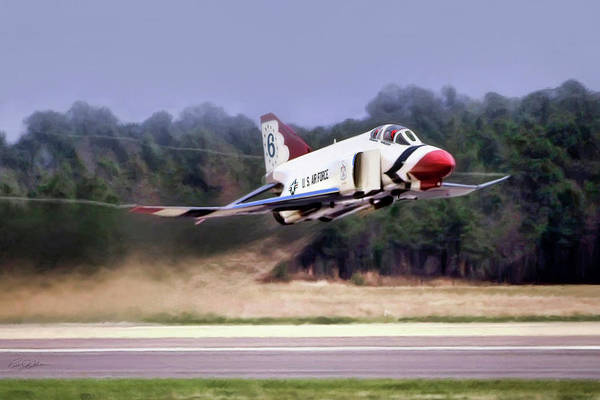 United States Air Force Digital Art - Showtime 6 by Peter Chilelli