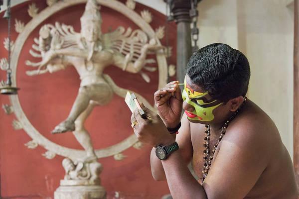 Kerala Wall Art - Photograph - Showtime by Marion Galt