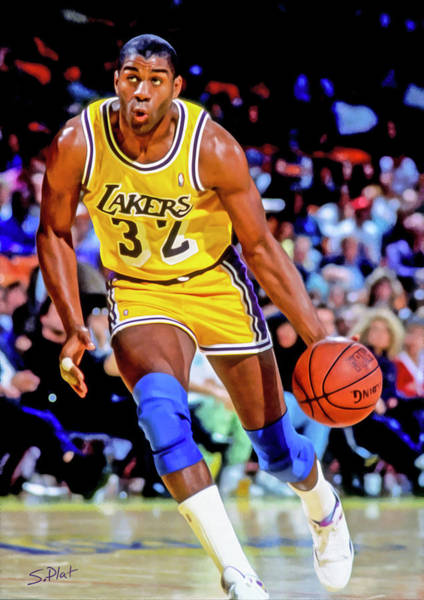 c2b5059b0 James Worthy Wall Art - Painting - Showtime by Sebastian Plat