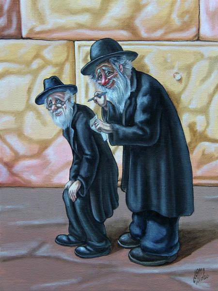 Painting - Shraibs Otkrytkes   by Victor Molev