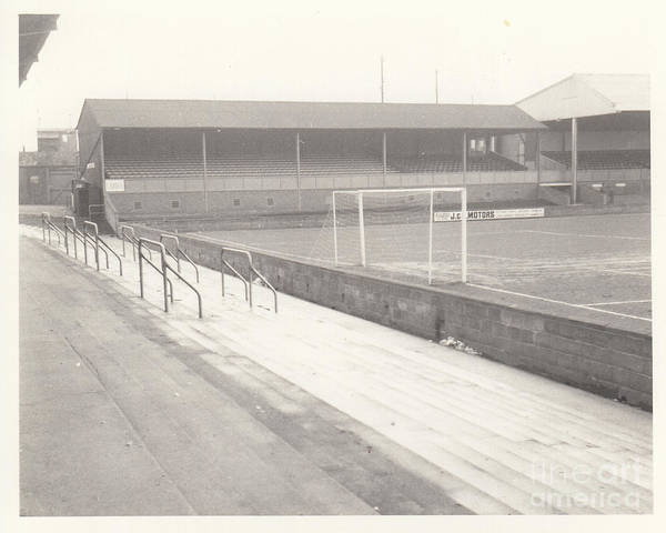 Wall Art - Photograph - Shrewsbury Town - Gay Meadow - East Stand 1 - March 1970 by Legendary Football Grounds