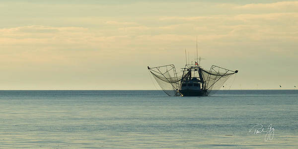 Photograph - Shrimp Boat Mississippi River Delta Louisiana by Paul Gaj