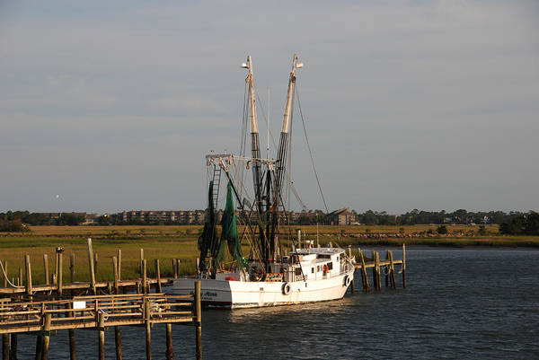 Photograph - Shrimp Boat by Susanne Van Hulst