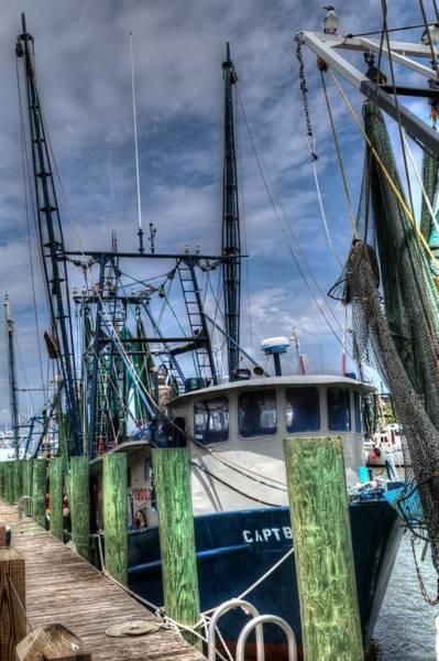 Photograph - Shrimp Boats At Shem Creek South Carolina by Carol Montoya