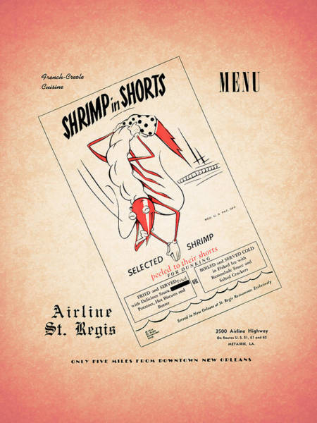 Wall Art - Photograph - Shrimp In Shorts 1950s by Mark Rogan