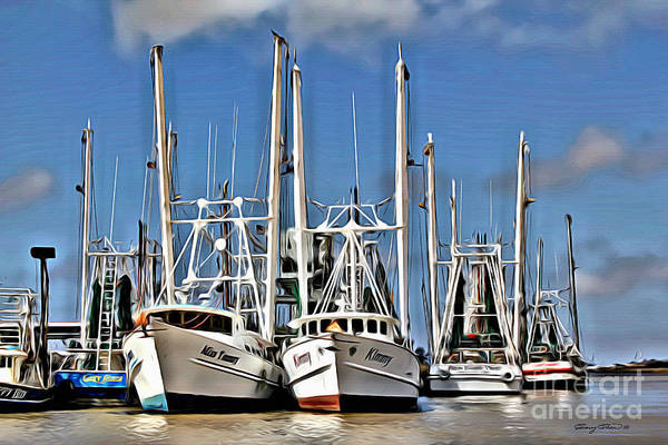 Wall Art - Photograph - Shrimper by Carey Chen