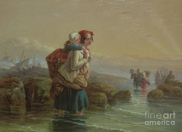 Painting - Shrimpers, 19th Century by Joseph John Jenkins