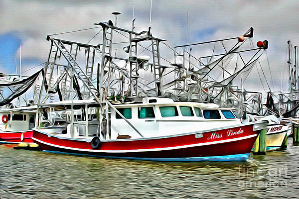 Wall Art - Photograph - Shrimpers 2 by Carey Chen
