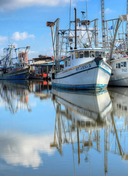 Photograph - Shrimping In South Louisiana  by JC Findley