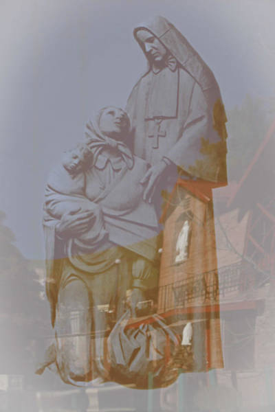 Photograph - Shrine Reflections by Colleen Coccia