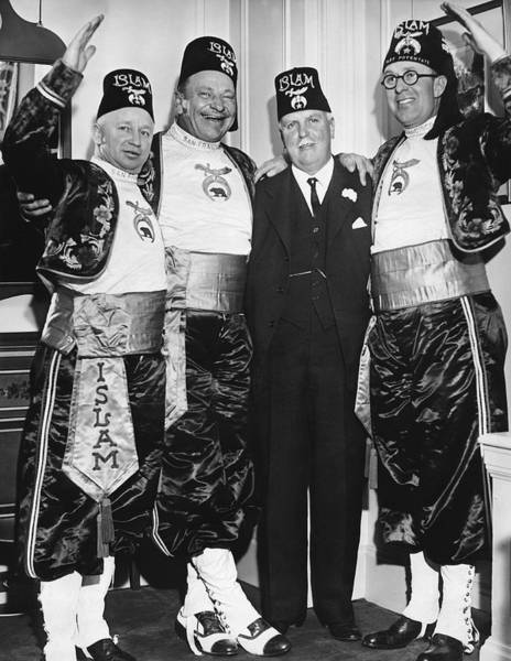 Republican Party Photograph - Shriner James Rolph by Underwood Archives