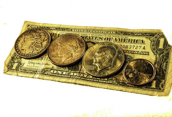 Photograph - Shrinking Dollars by Jeff Kurtz
