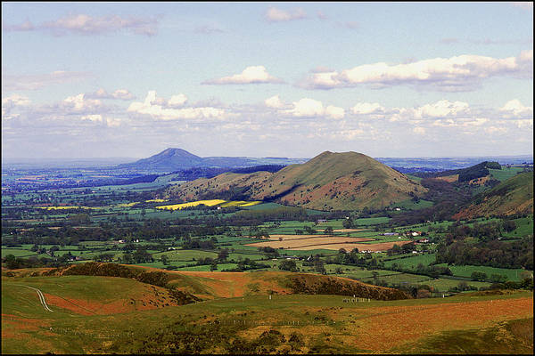 Church Stretton Wall Art - Photograph - Shropshire Hills by Joe Rooney