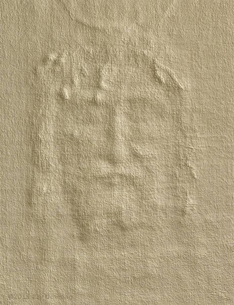 Wall Art - Digital Art - Shroud Of Turin 3d Information by Ray Downing