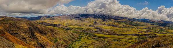 Photograph - Shrouded Mount St. Helen Panoramic by Dale Kauzlaric