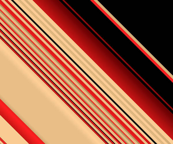 Digital Art - Shuffled Layers by Ruth Moratz