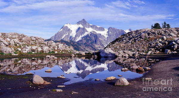 Photograph - Shuksan Reflections by Warren Photographic