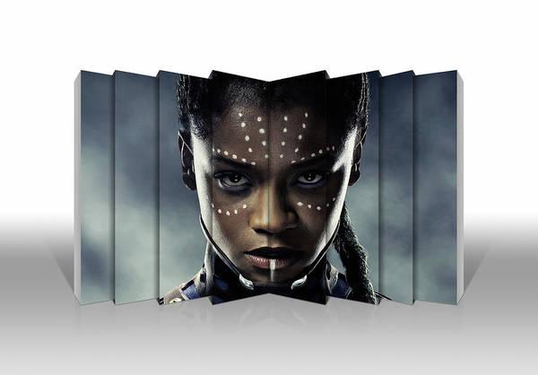 Black Panther Mixed Media - Shuri Black Panther by Love Art
