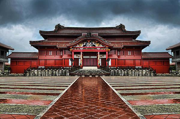 Photograph - Shuri Castle by Ryan Wyckoff