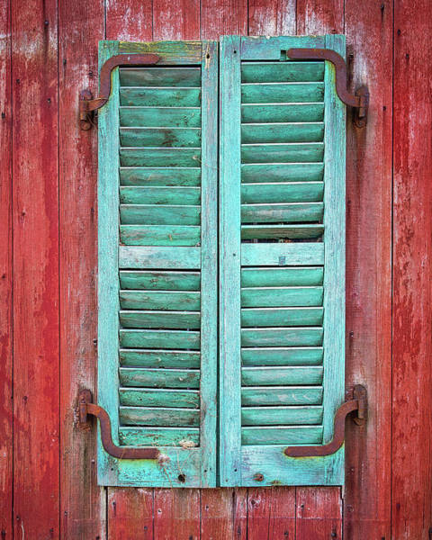 Photograph - Old Barn Window - Shuttered by John Vose