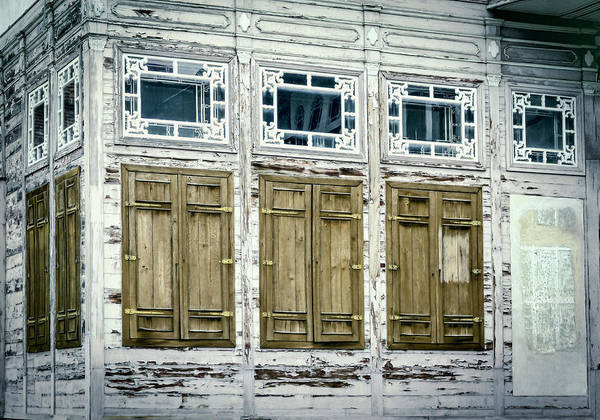 Photograph - Shuttered And Peeling Palace by Joan Carroll