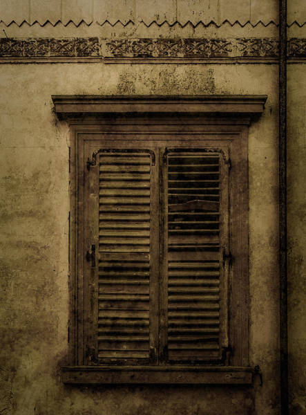 Photograph - Mon Repos, Corfu, Greece - Shuttered by Mark Forte