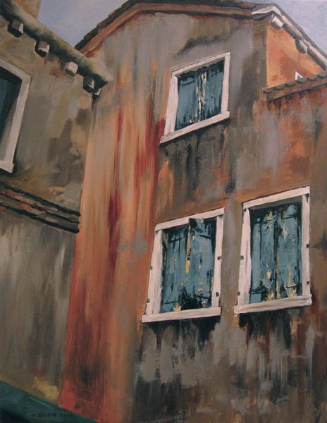 Painting - Shuttered by Outre Art  Natalie Eisen