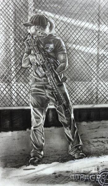 Si Defense Pertra Rifle Art Print