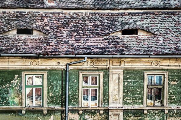 Photograph - Sibiu Architecture - Romania by Stuart Litoff
