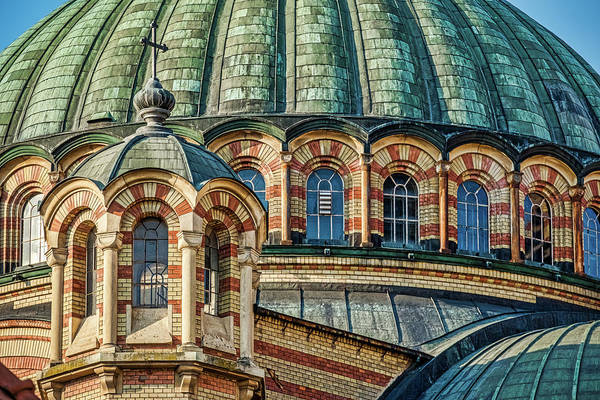 Photograph - Sibiu Church Dome - Romania by Stuart Litoff