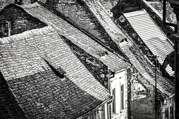 Photograph - Sibiu Rooftops - Romania by Stuart Litoff