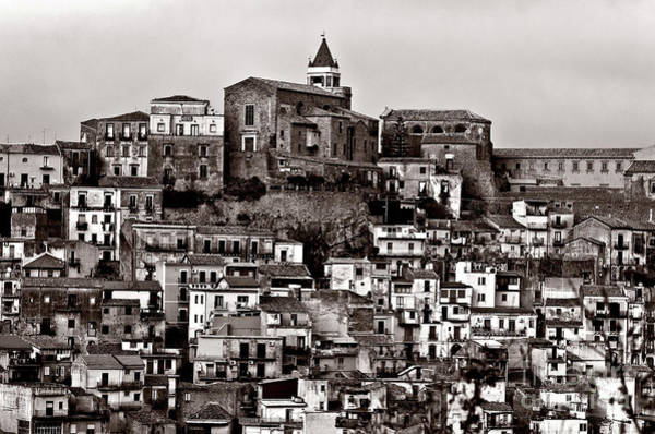 Photograph - Sicilian Mountain Village by Silva Wischeropp
