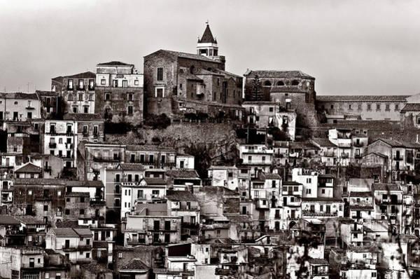 Photograph - Sicilian Mountain Village by Silva Wischeropp